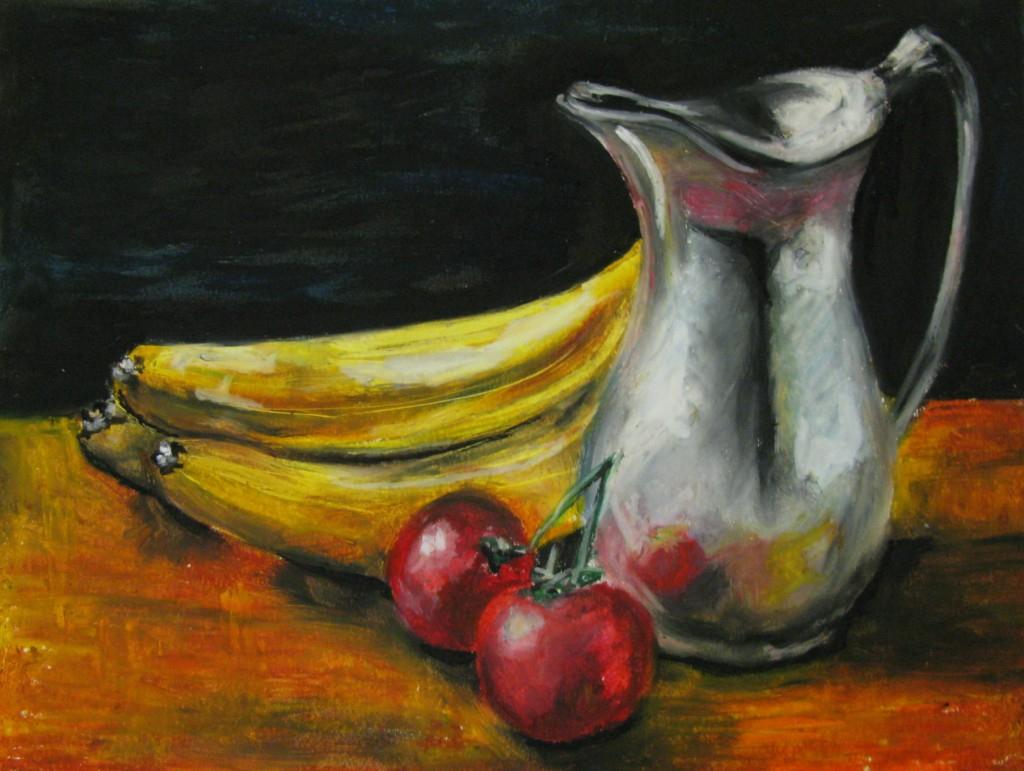Drawn still life oil pastel Art Oil Pastel Life Oil