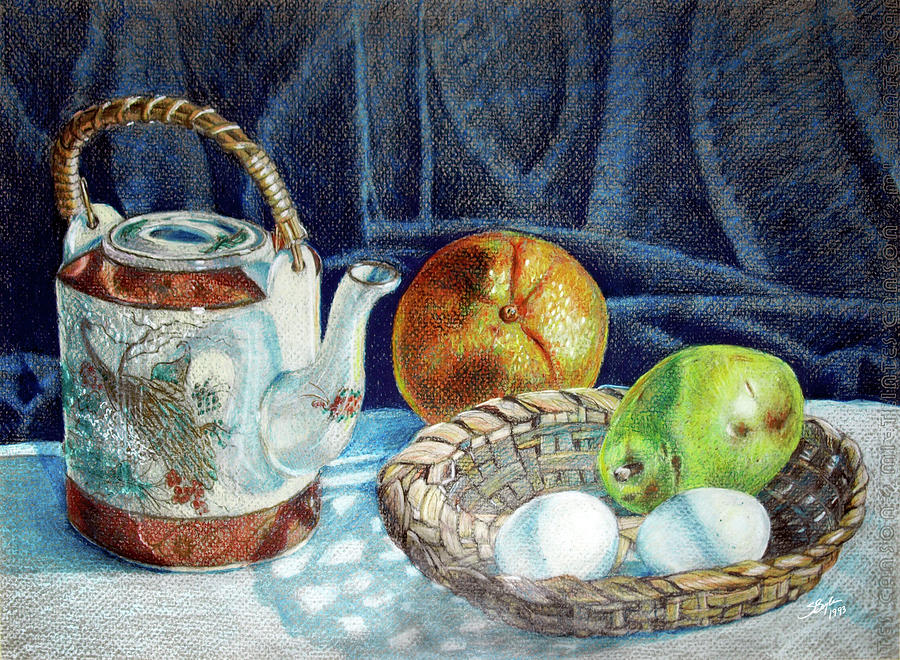 Drawn still life pencil color No2 Drawing Pencil Life Stephen