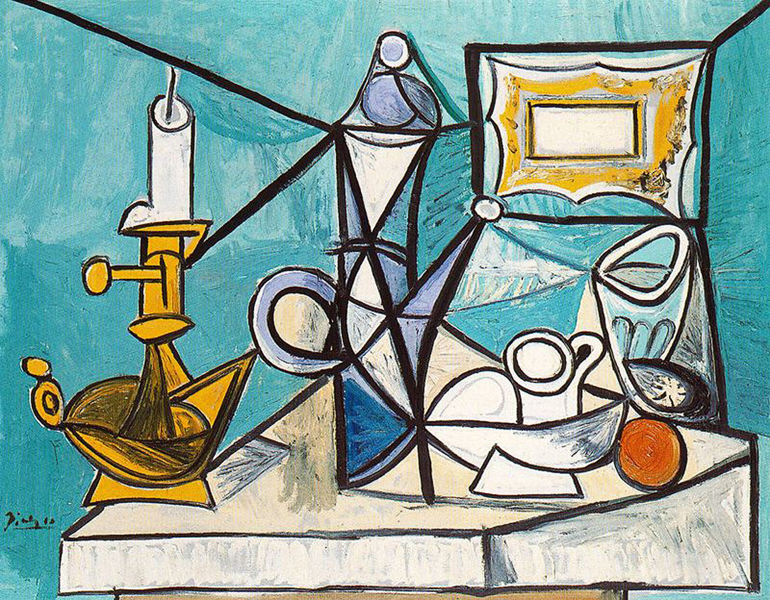 Drawn still life picasso 174 Still Picasso with images