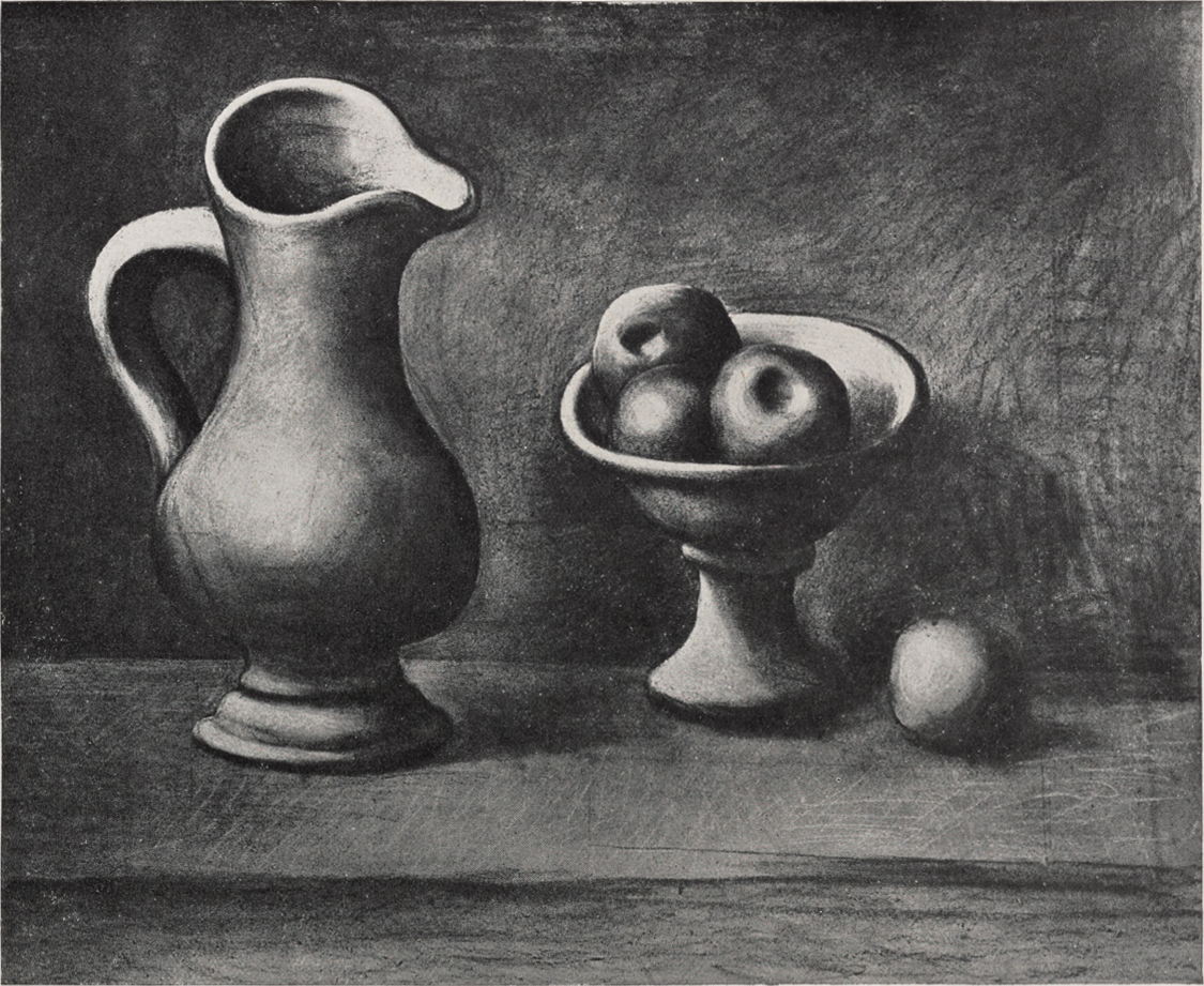 Drawn still life picasso And still 1919 and pitcher