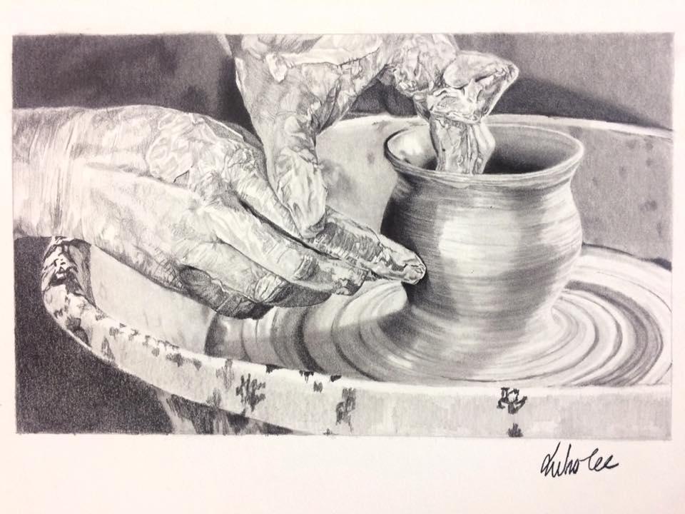 Drawn still life pottery By Lee DeviantArt Juho Lee)