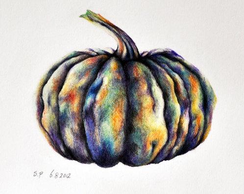 Drawn still life pumpkin On Life best Still Pinterest