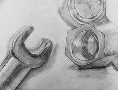 Drawn still life shading Brains: still With shading