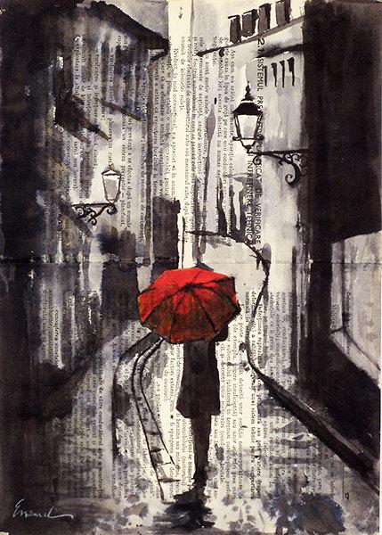 Drawn still life umbrella Umbrella Drawing and Art City