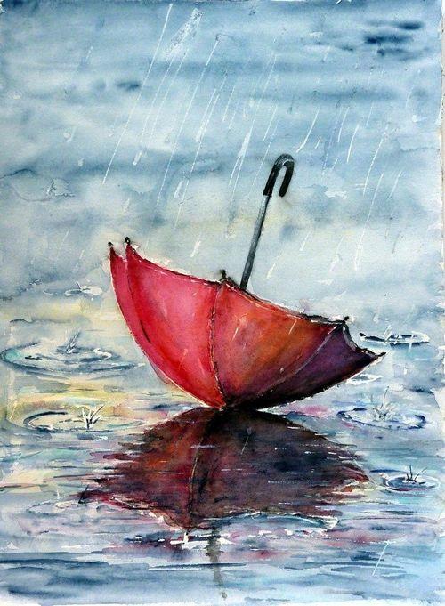 Drawn still life umbrella 25+ and EL  this