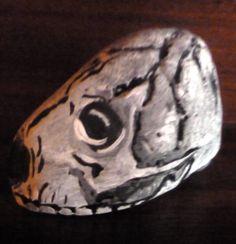 Drawn stone charcoal What stone drawn pebble a