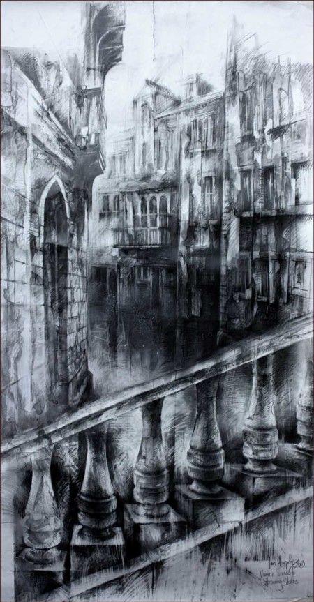 Drawn stone charcoal Charcoal » drawings Murphy Drawings