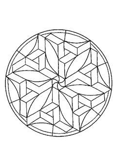 Drawn stone glass sphere Stepping kleurplaten Stained Daisy Fleur