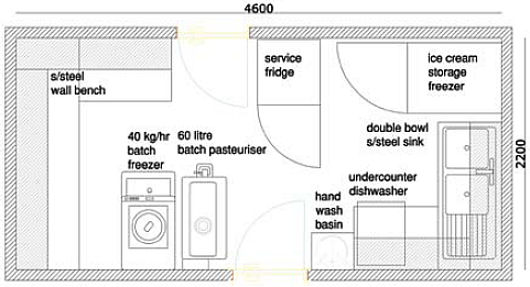 Drawn store Money in layout the shop