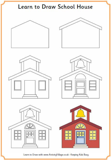 Drawn hosue beginner On best house Drawing school