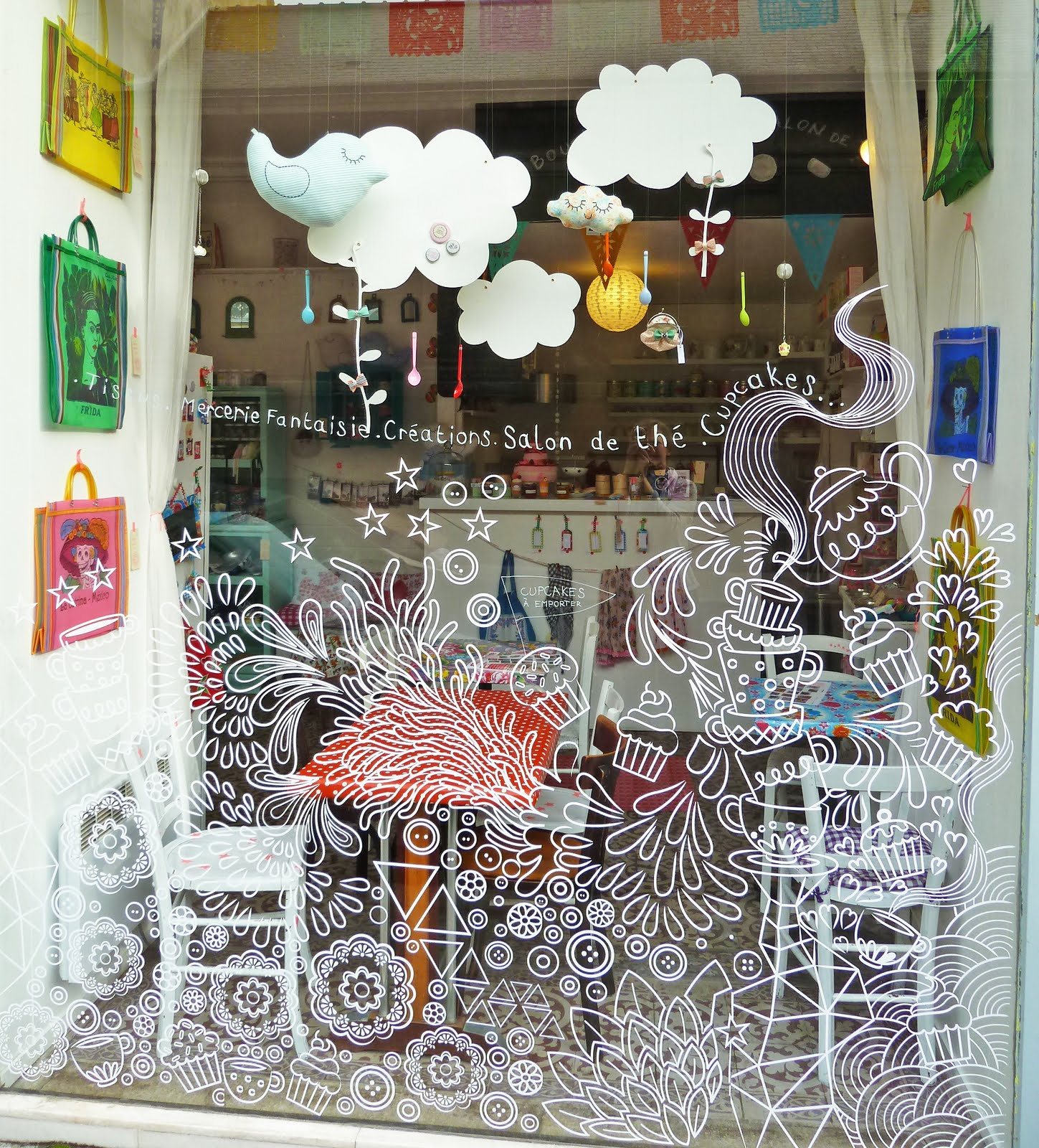 Drawn store shop window Drawn great very you with