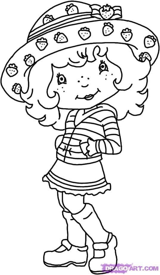 Drawn strawberry cartoon To Shortcake strawberry Draw how