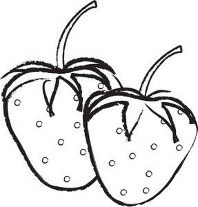 Tomato clipart two Free Clipart White And Black