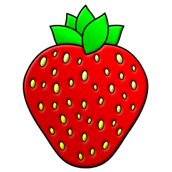 Drawn strawberry cute By Step strawberry Step drawing