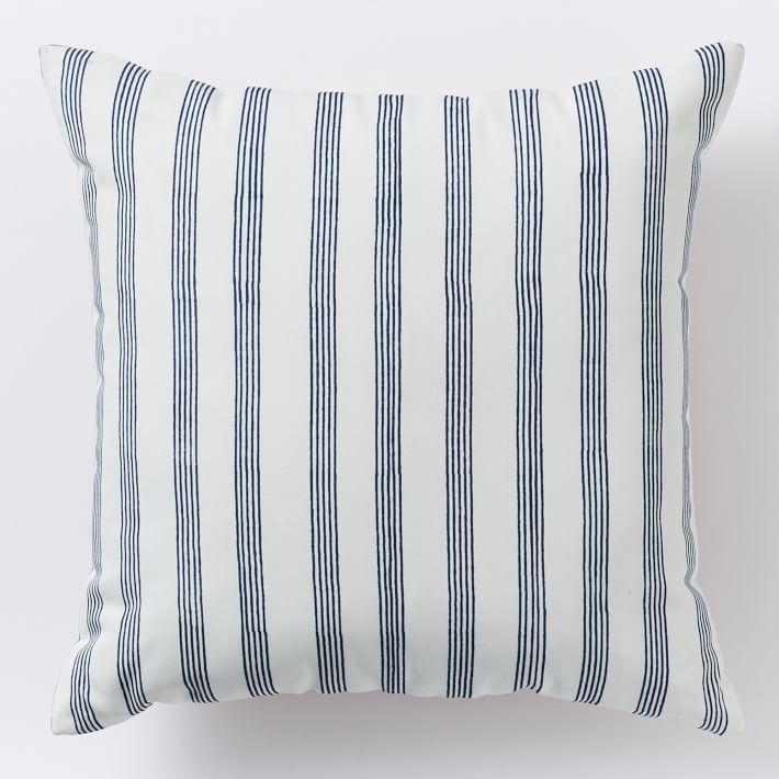 Drawn stripe Pillow west elm  Drawn