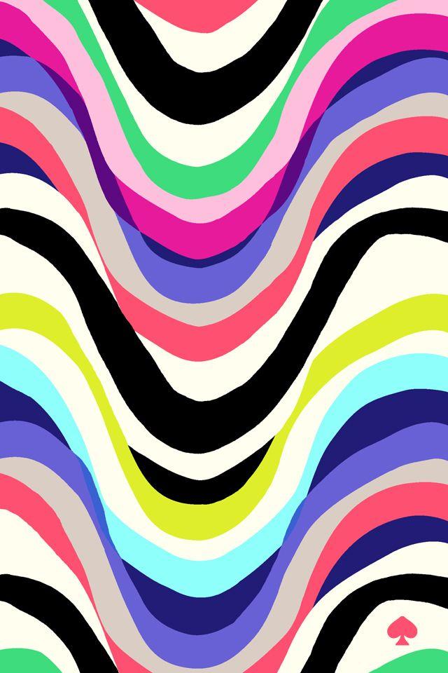 Drawn stripe kate spade Iphone Best ideas Pinterest pixels
