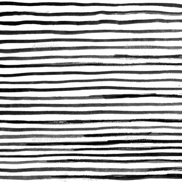 Drawn stripe Striped Hand Stripes Hand Ink