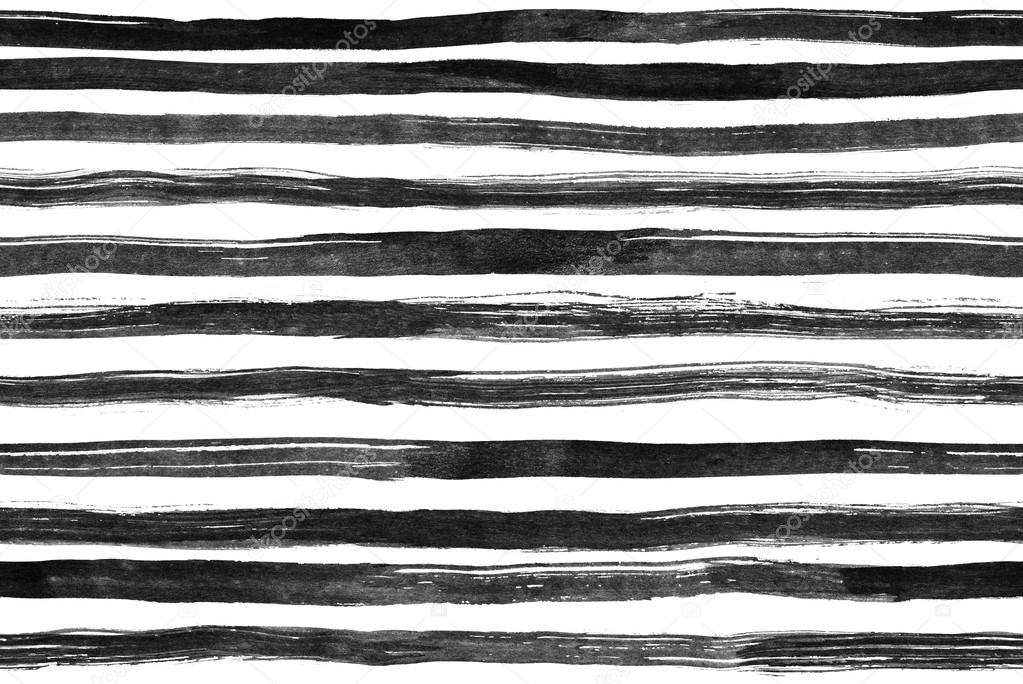 Drawn stripe black and white Simple background Image Black –