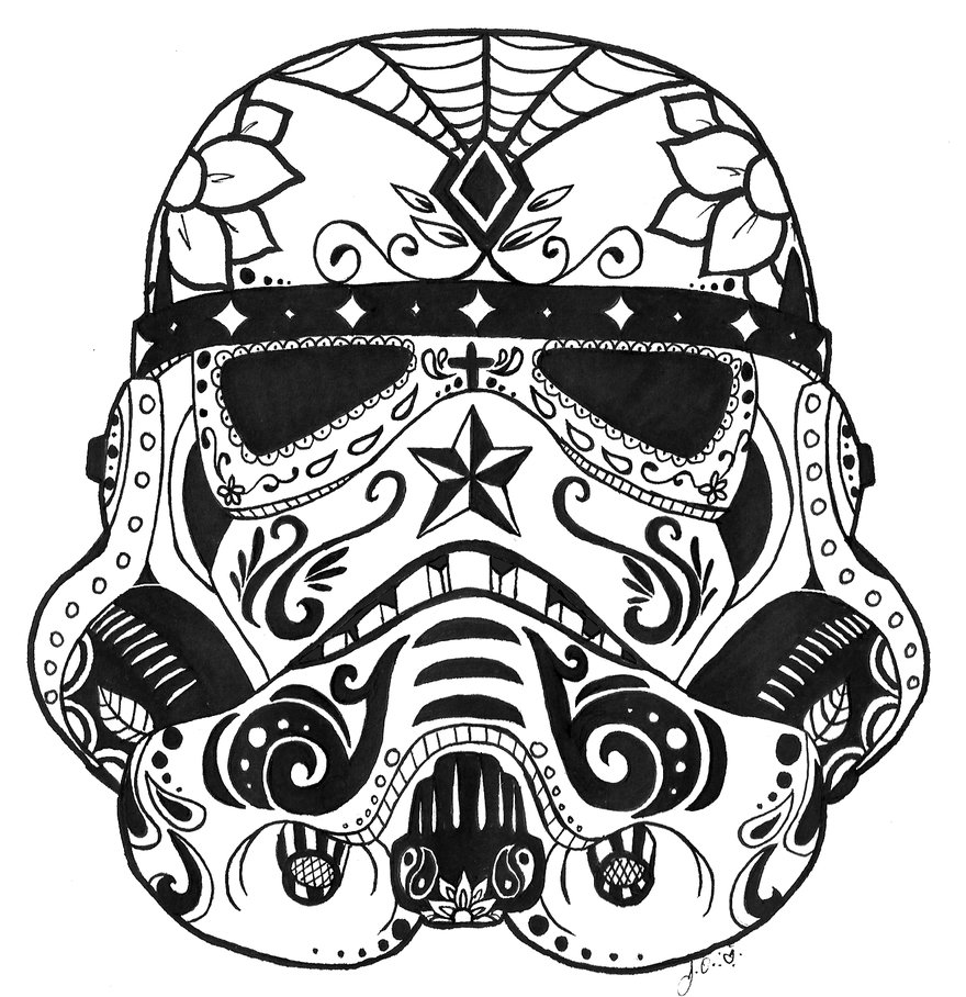 Drawn sugar skull Sketch Art Sugar Drawing Realistic