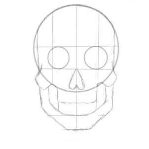 Drawn sugar skull step by step How Sugar a step Pop