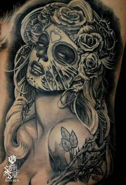 Drawn sugar skull zombie Skull 80 images sugar tattoos