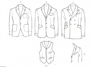 Drawn suit Bespoke: Tailored Suits suit Denver