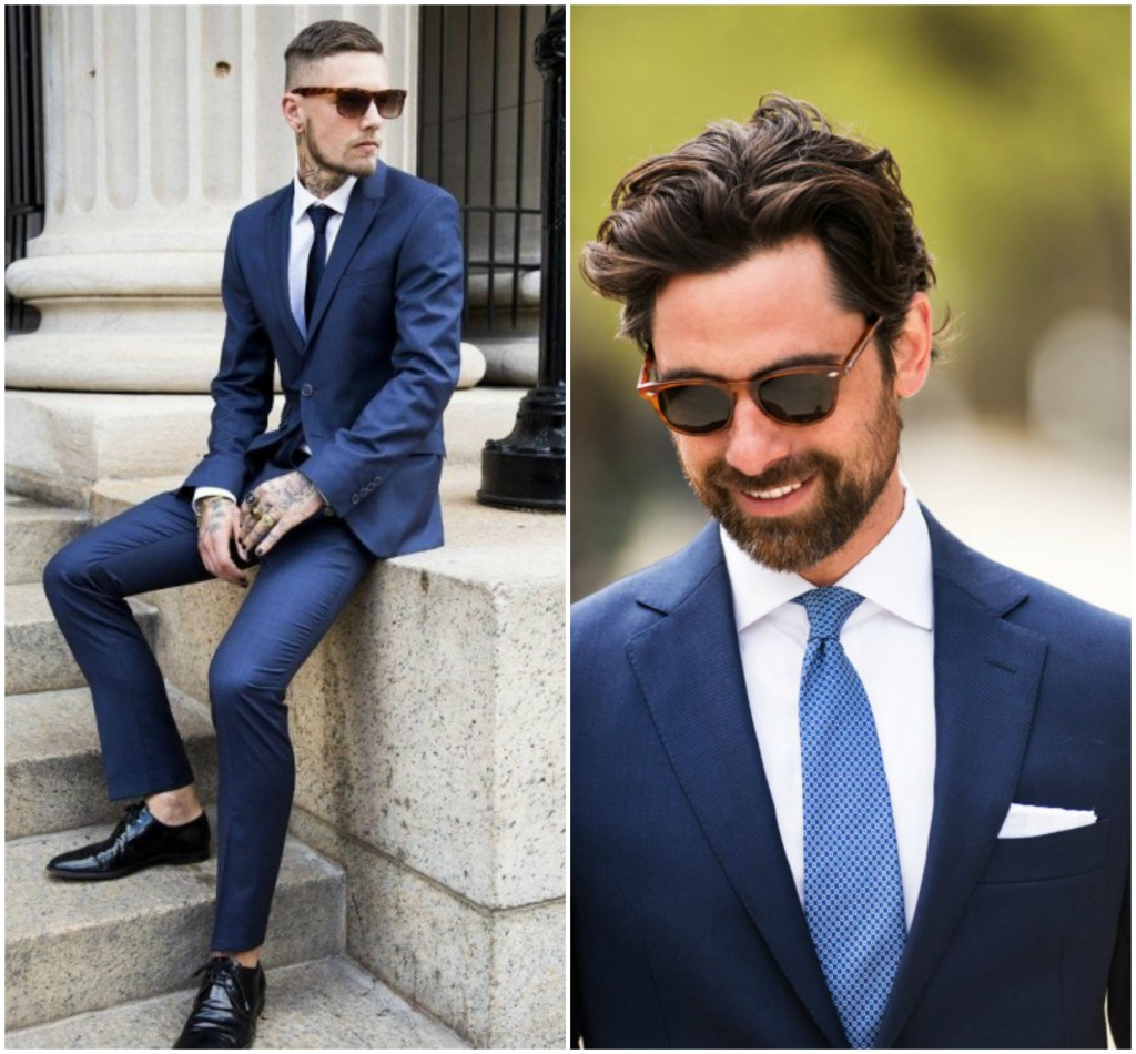 Drawn suit classic navy Style Buy Suits to Street