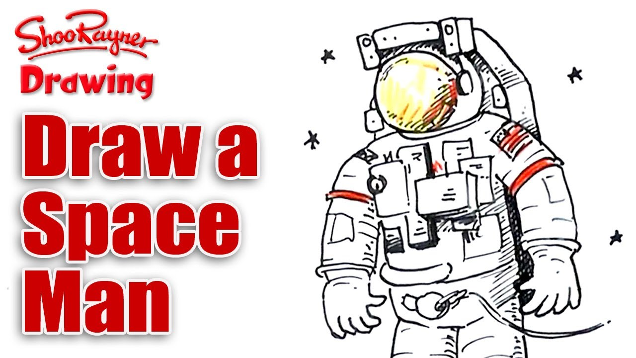 Drawn astronaut To Space Man a YouTube