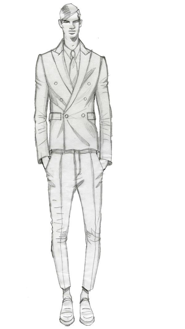 Drawn suit illustration SketchesSketchbooksDrawingSketches b Fashion StyleFashion IllustrationsItalian