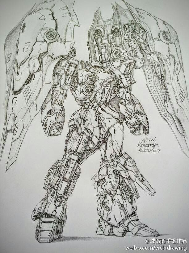 Drawn suit robot By and Drawings Mobile of