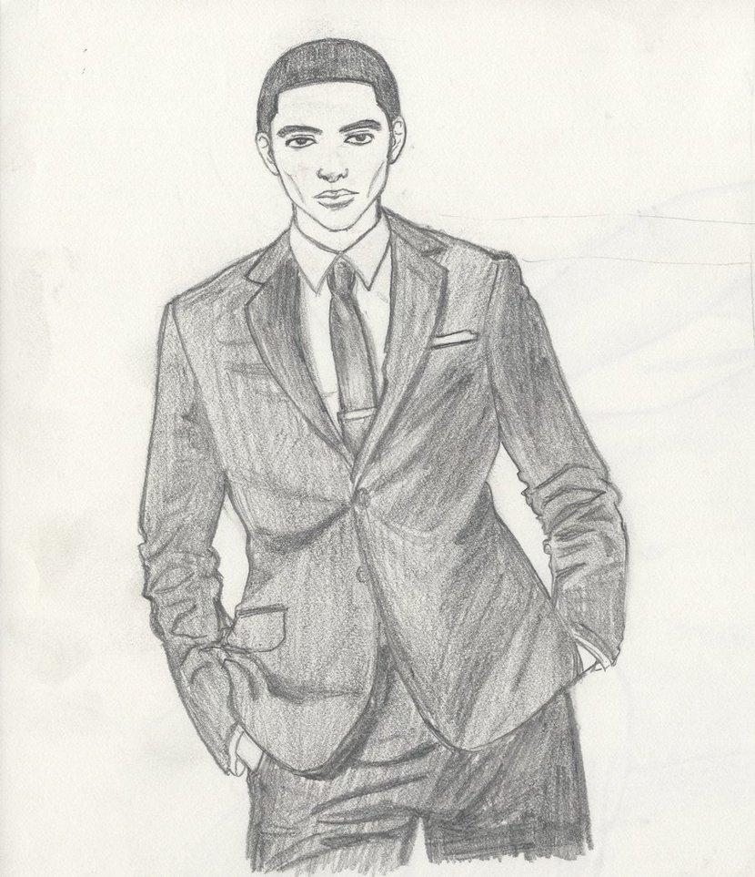 Drawn suit sketch man Man High Man Images In