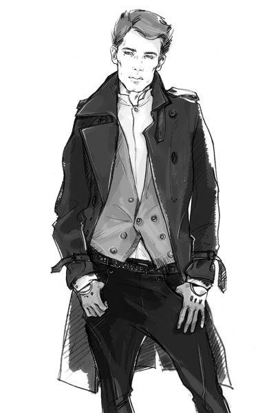 Drawn suit sketch man Best illustration Men's Pinterest 25+
