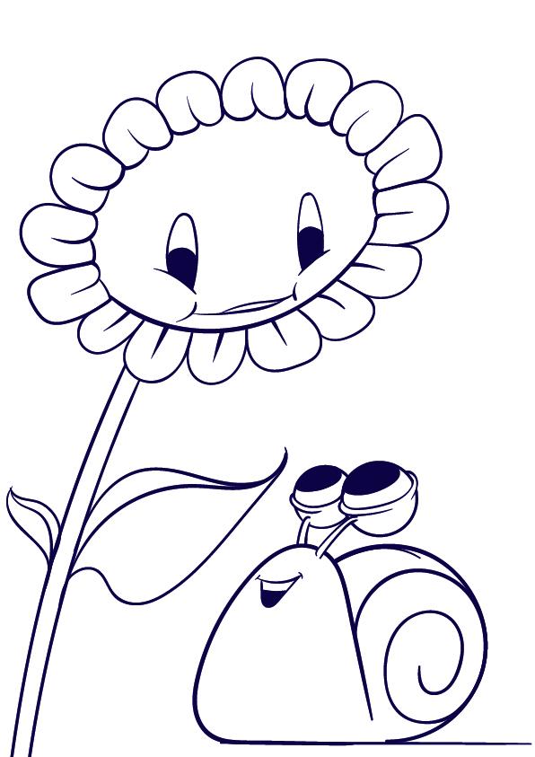 Drawn snail cartoon A 05 Learn a Learn