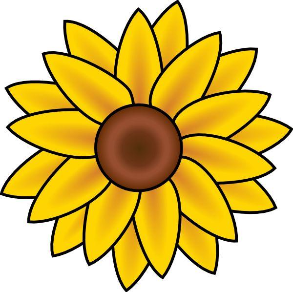 Trippy clipart sunflower #5