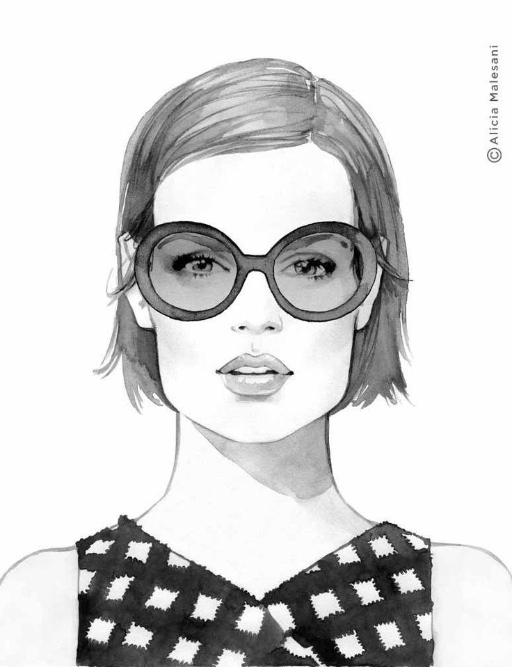Drawn spectacles bowl 737 of fashion Malesani best