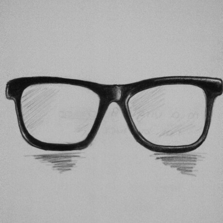 Drawn sunglasses #thing Thing #cute #drawing :)