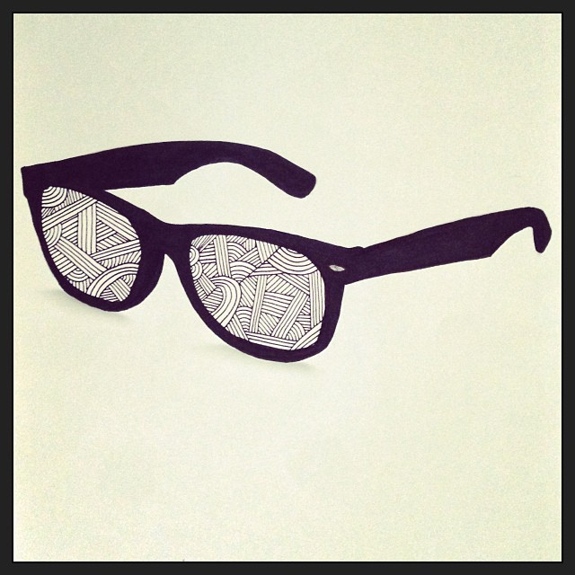 Drawn sunglasses Your Always #draw #… #art