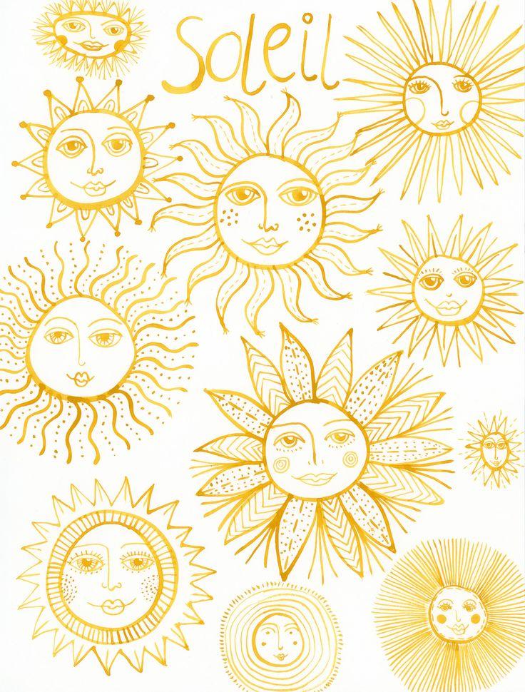 Drawn sunlight The sun Congdon ideas Creativebug