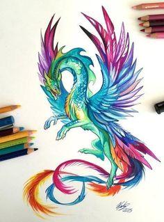 Drawn hummingbird phoenix Mystic  фотографии was just