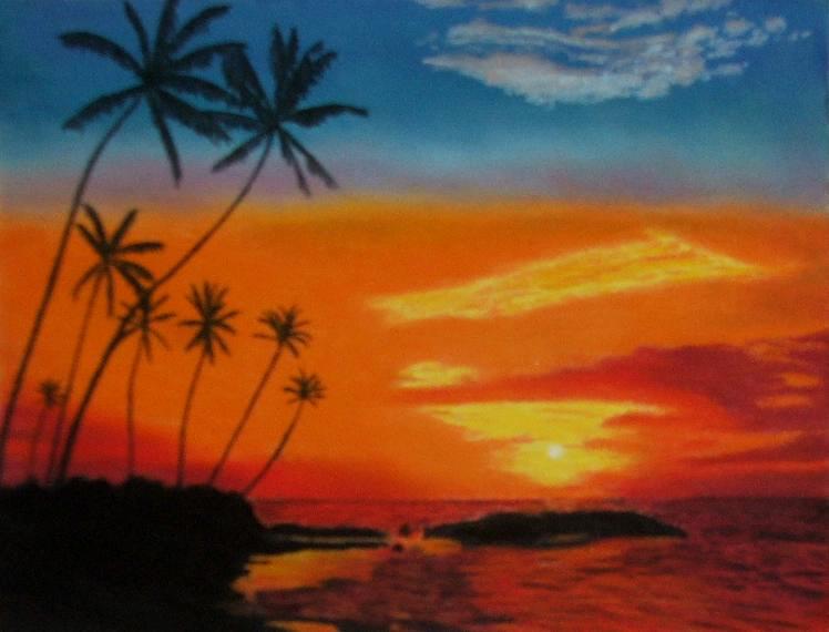 Drawn sunrise By Sunrise DeviantArt Tropical Sunrise