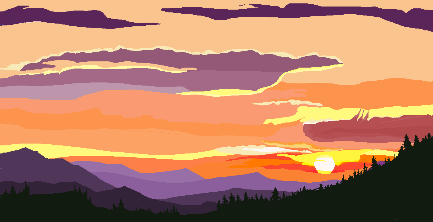 Drawn sunrise Portfolio Park's Brian Presence Resonance