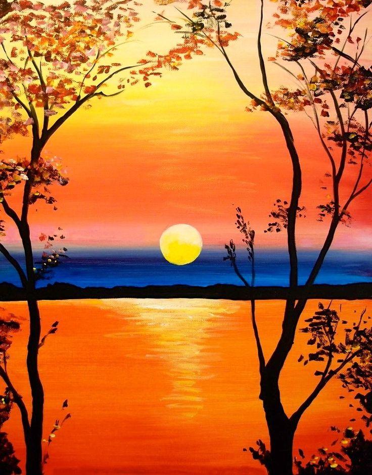 Drawn sunrise easy Ideas colours Bright Sun Wow