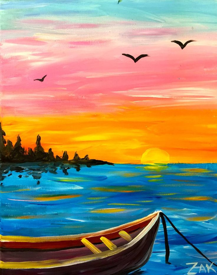 Drawn sunrise easy Ideas drawing Sunset Pinterest 25+