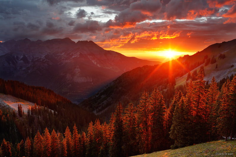 Drawn sunset mountain Tips Photography Sunset Mountain Uncompahgre
