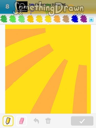 Drawn sunshine Draw SomethingDrawn by on jennypah