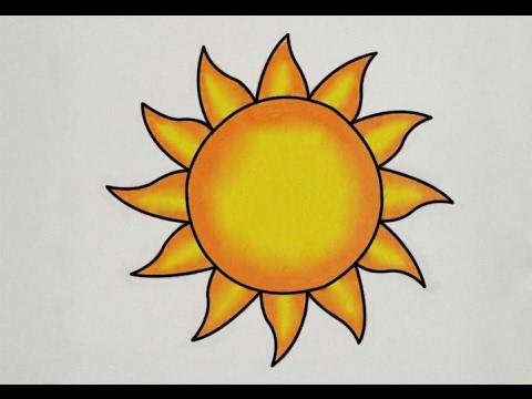 Drawn sunshine YouTube to to sun draw