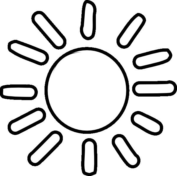 Simple clipart sunshine Clipart Clipart Outline Free sun%20clipart%20outline