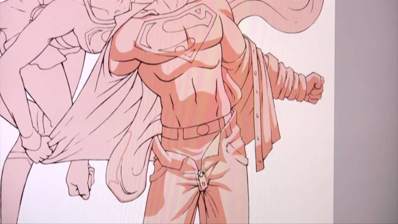 Drawn super girl Drawing Superman Superman internet draw internet Superman