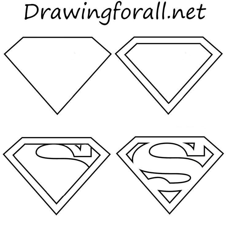 Drawn super girl Drawing Superman Best superman to Draw 25+