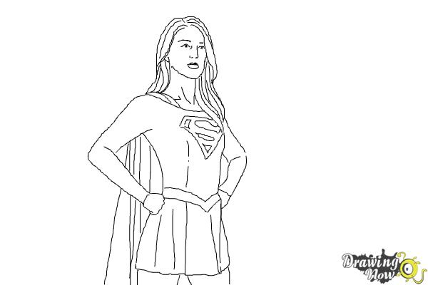 Drawn supergirl Supergirl Supergirl to 10 2015